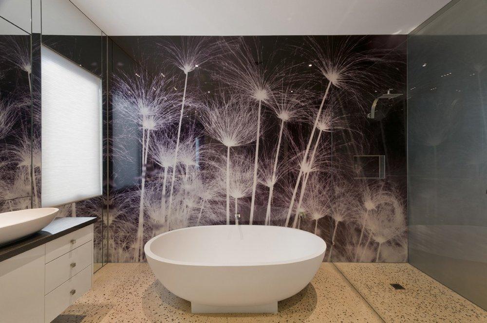 Bathroom Printed Splashback