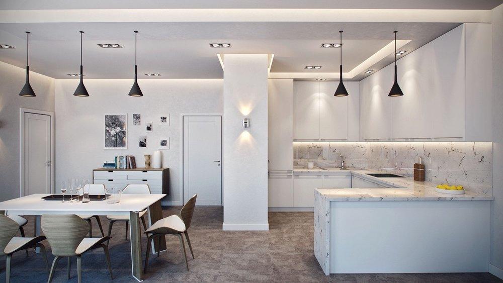 German-inspired-hanging-light-marble-kitchen.jpg