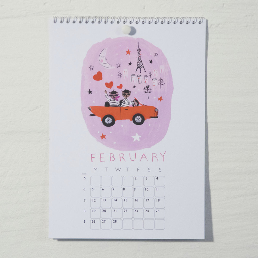 Susse Collection shop Calendar 2018 2
