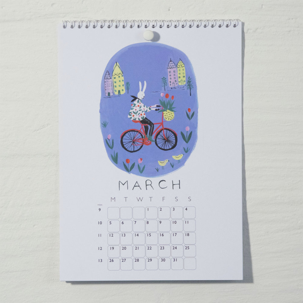 Susse Collection shop Calendar 2018  3