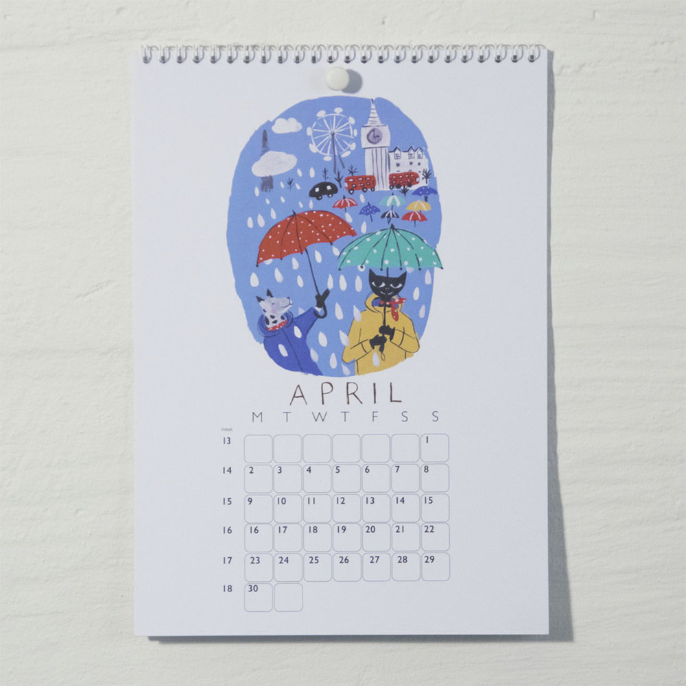 Susse Collection shop Calendar 2018 . 5