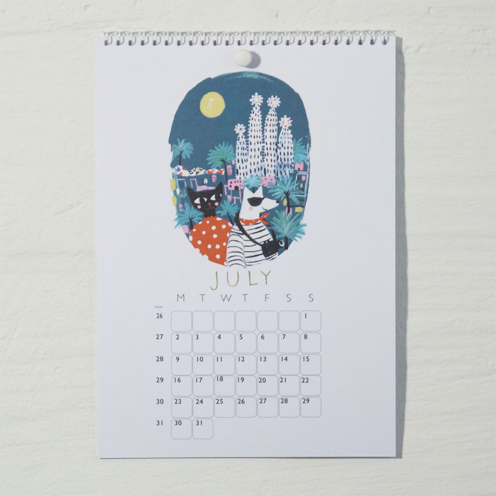Susse Collection shop Calendar 2018 . 7
