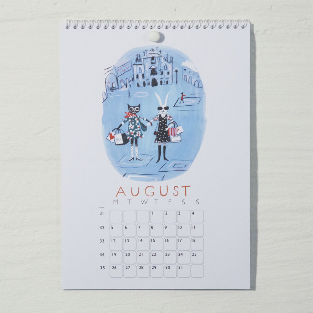Susse Collection shop Calendar 2018 . 8