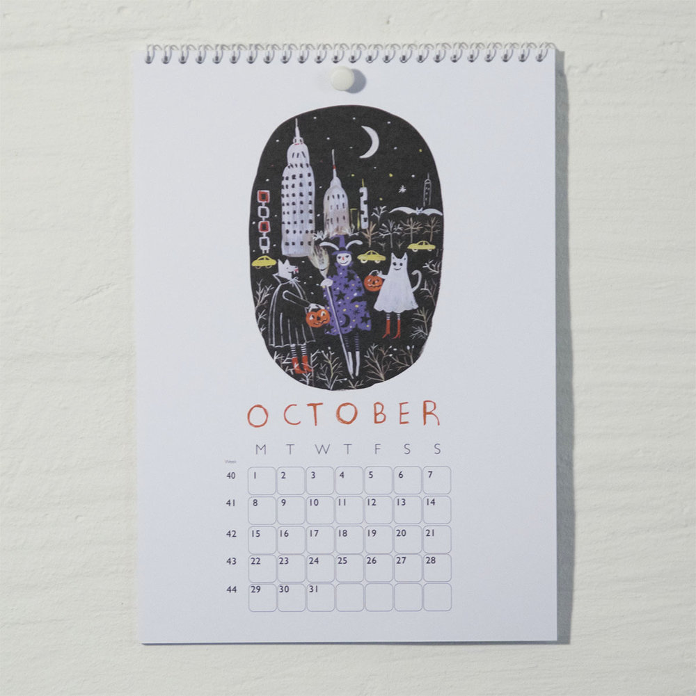 Susse Collection shop Calendar 2018 10