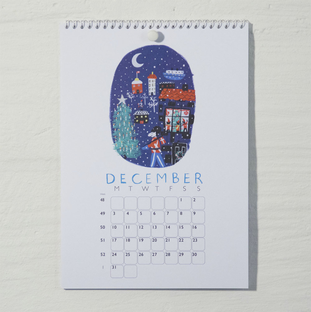 Susse Collection shop Calendar 2018 . 12