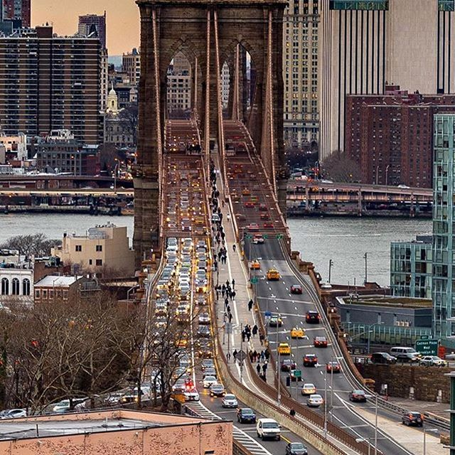 #happybirthday #brooklynbridge #Repost @nycgo ・・・ The Brooklyn Bridge opened on this date in 1883. It was the first steel-wire suspension bridge ever constructed. When rumors of a possible collapse started just days after it opened, showman P.T. Barnum helped prove the bridge was sound by marching a parade of 22 elephants across it. Tap the bio link for our Guide to the #BrooklynBridge ⬆️ Photo: @nyc.lens via @nyc.tagged⠀ ⠀ ⠀ ⠀ #nyc #nycgo #seeyourcity #thisisnewyorkcity #allarewelcome #welcomingtheworld #citybestpics #city_explore #seemycity #citylimitless #ic_thecity #urbangathering #ig_captures_city #ignycity #igcapture_nyc #ig_great_shots_nyc #ig_photooftheday #igers #igersofnyc #iloveny #lovenyc  #weekly_feature #nycprimeshot #what_i_saw_in_nyc #🗽