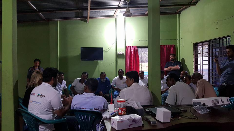 Experts from LightCastle Partners explain how the business model canvas can boost the fortunes of groundnut traders from Boultoli Bazar, Gopalgonj.