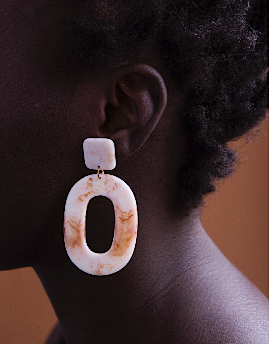 My line of earrings -   Betón Pieces