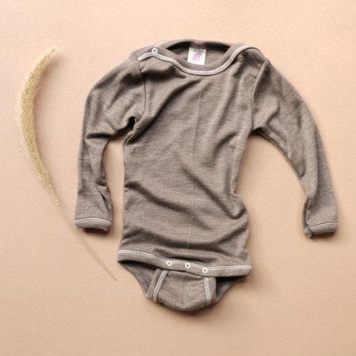 f978a0d0e Wool/Silk long bodysuit, organic — Betón