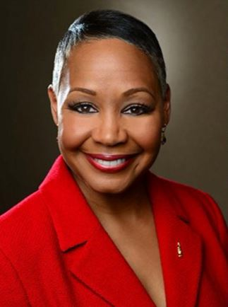 WNBA President, Lisa Borders. Photo/WNBA