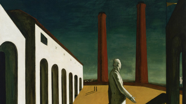 Giorgio-de-Chirico-The-Enigma-of-a-Day