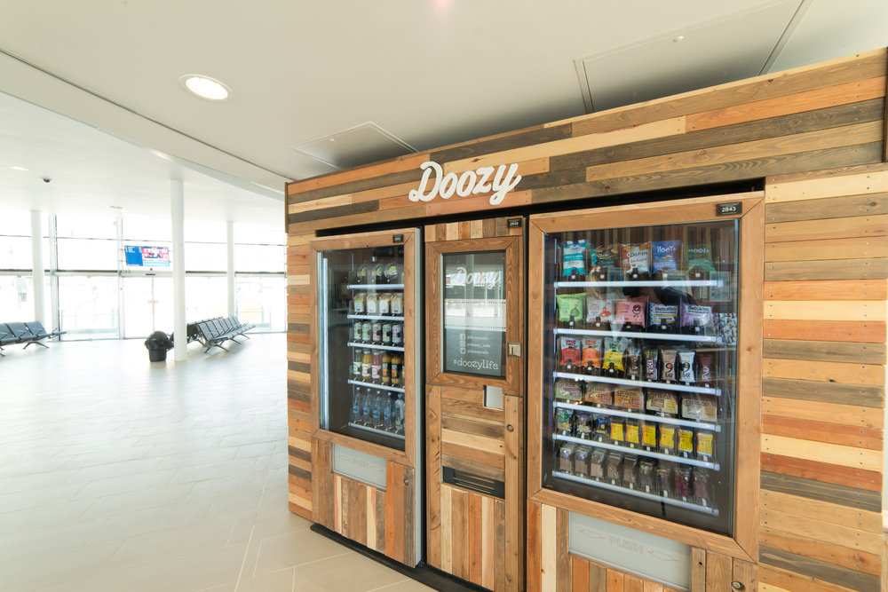 Doozy snacks and cold drinks machine