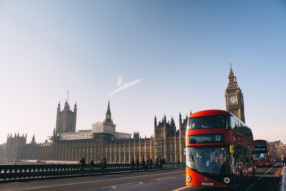 The London Bus powered by coffee