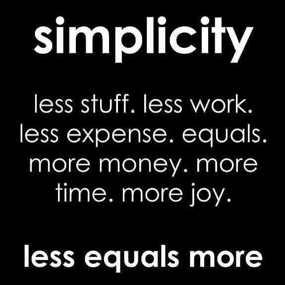 No debt... No drama... No challenges that go unmet without great enthusiasm.... Simplicity... Welcome the wonder into your life.  #simplicity #wonder #nodrama #nodebt #challengeyourself #PUSHpastlimits #PUSHcoaching