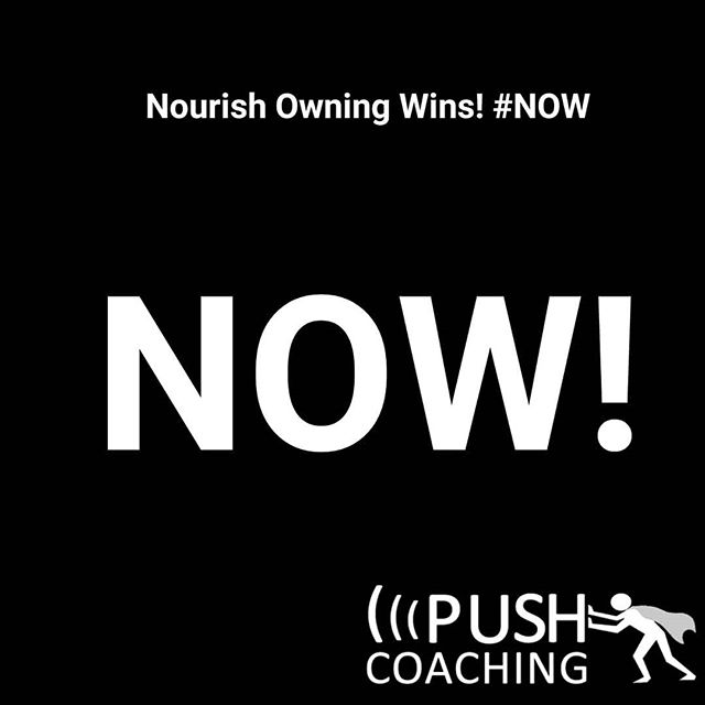 """Now. Do it now.... Now is now, not yesterday, not tomorrow, we can't touch either one of those, action can only be NOW!  Nourish Owning Wins!  Our actions feed our results, nourish  life with the accountability and discipline. It goes beyond """"getting it done""""... A NOW philosophy creates more and more VICTORIES, for you and those around you!  #victorious #successminded #successcoach #VICTORY #action #accountability #ArkhamExec #growth #now #doitnow #NOW #PUSHnow #PUSHharder #purposedriven #PUSHforward #PUSHpastlimits #personaldevelopment #victorylap #professionaldevelopment #yesican #understanding #InspireTheCity #purposecoach #PUSHcoach"""