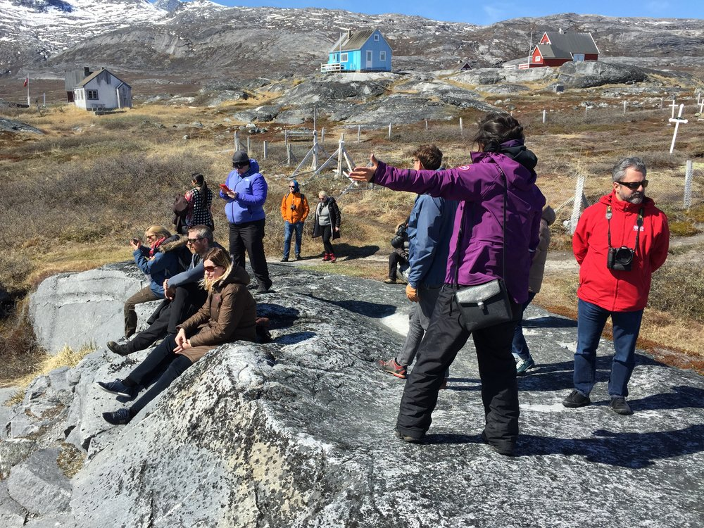 Group outing during Green Growth Dialogue in Nuuk 2016
