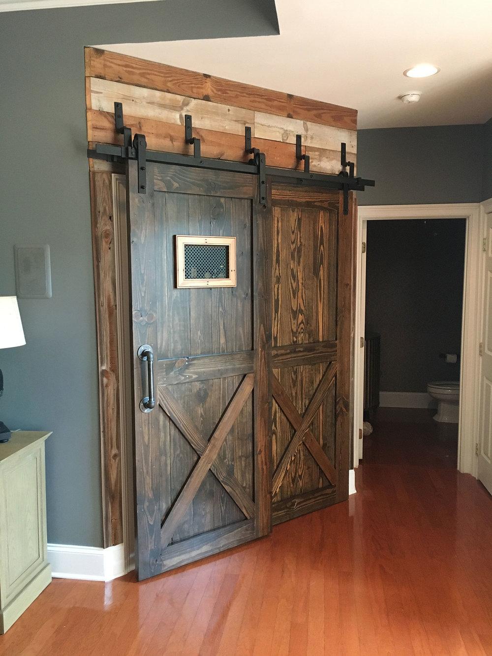 Sliding Bar Door For Custom Bar
