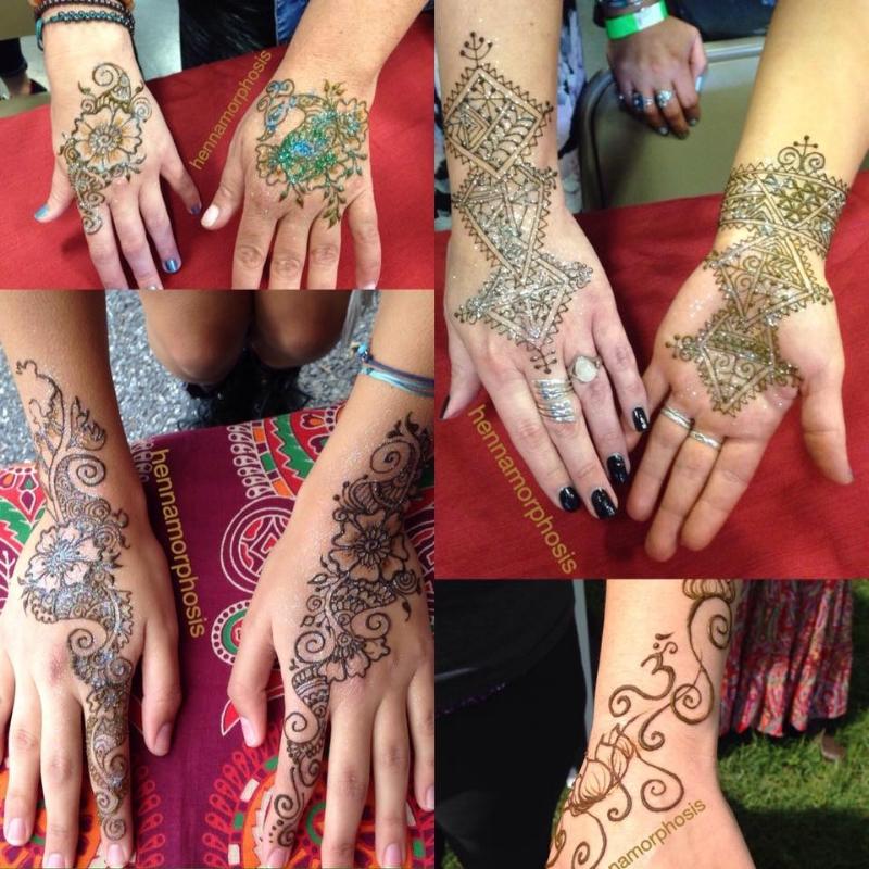 karmafest_henna_designs_glitter_hands