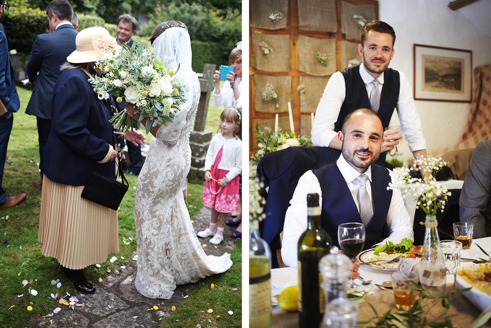 Keepsake Weddings Keepsake wedding photography - Bride and Grandmother of the Bride and Groom and Best Man