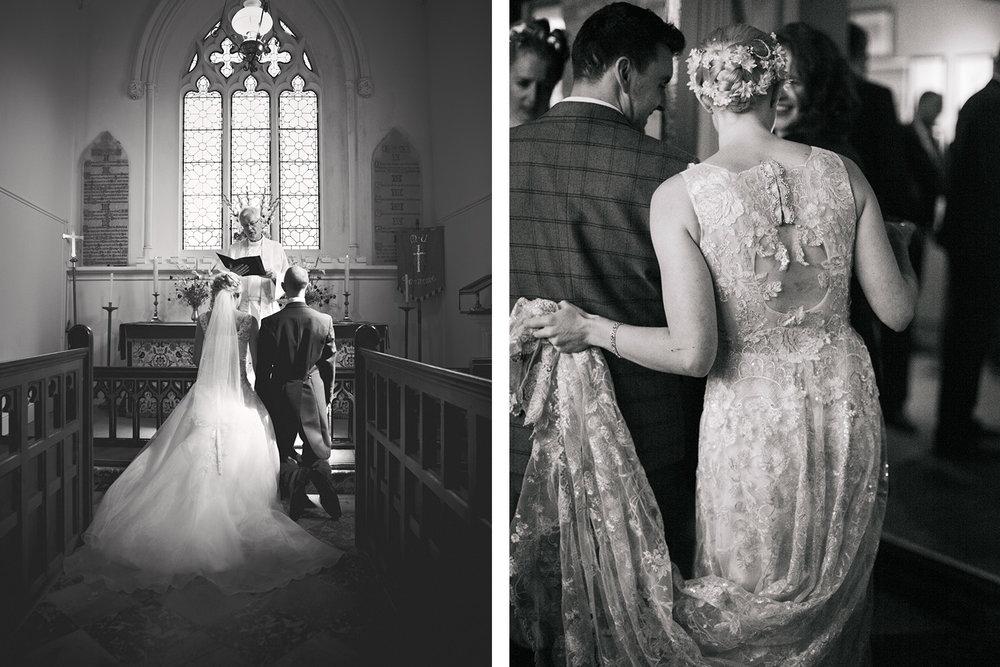 Keepsake Weddings Keepsake wedding photography - Wedding dress and Bride and Groom