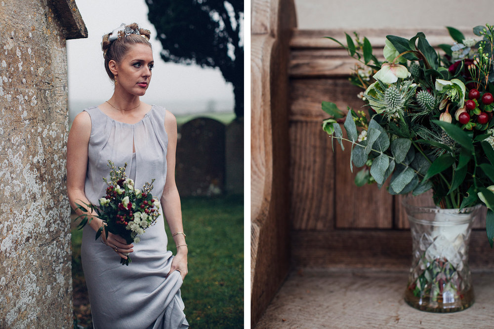 Keepsake wedding photography - Bridesmaid and bouquet