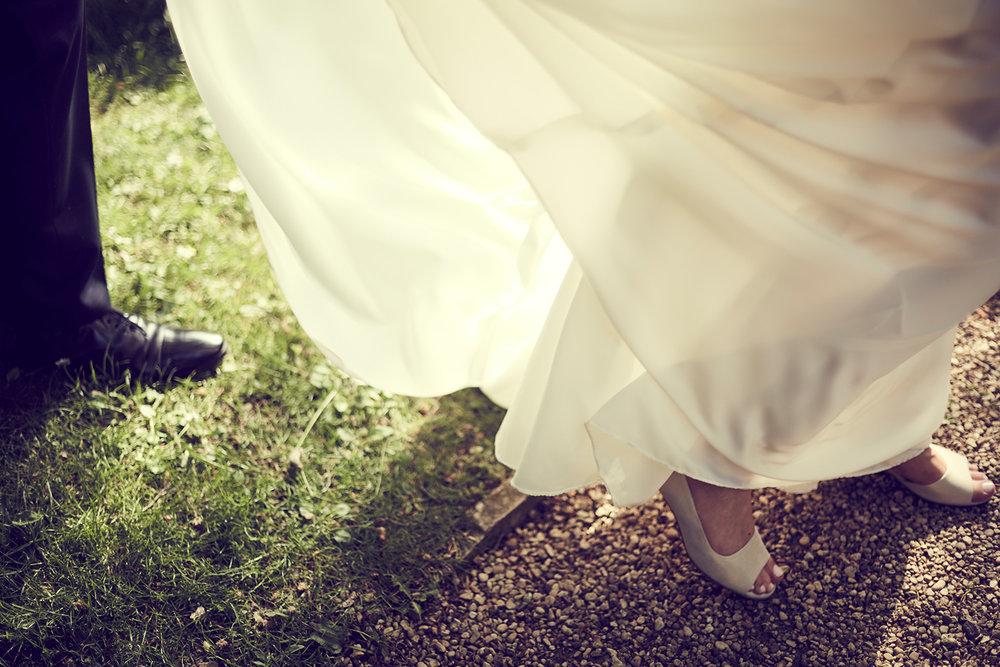 Keepsake wedding photography - wedding dress