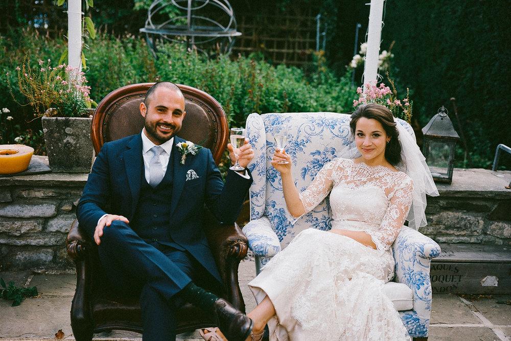 Keepsake wedding photography - bride and groom