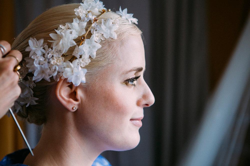 Keepsake Weddings Keepsake wedding photography - Brides hair and make up