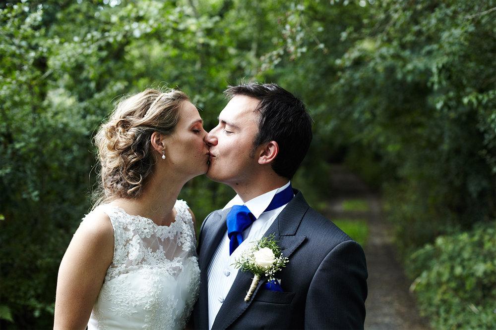 Keepsake Weddings Keepsake wedding photography - Bride and Groom kissing