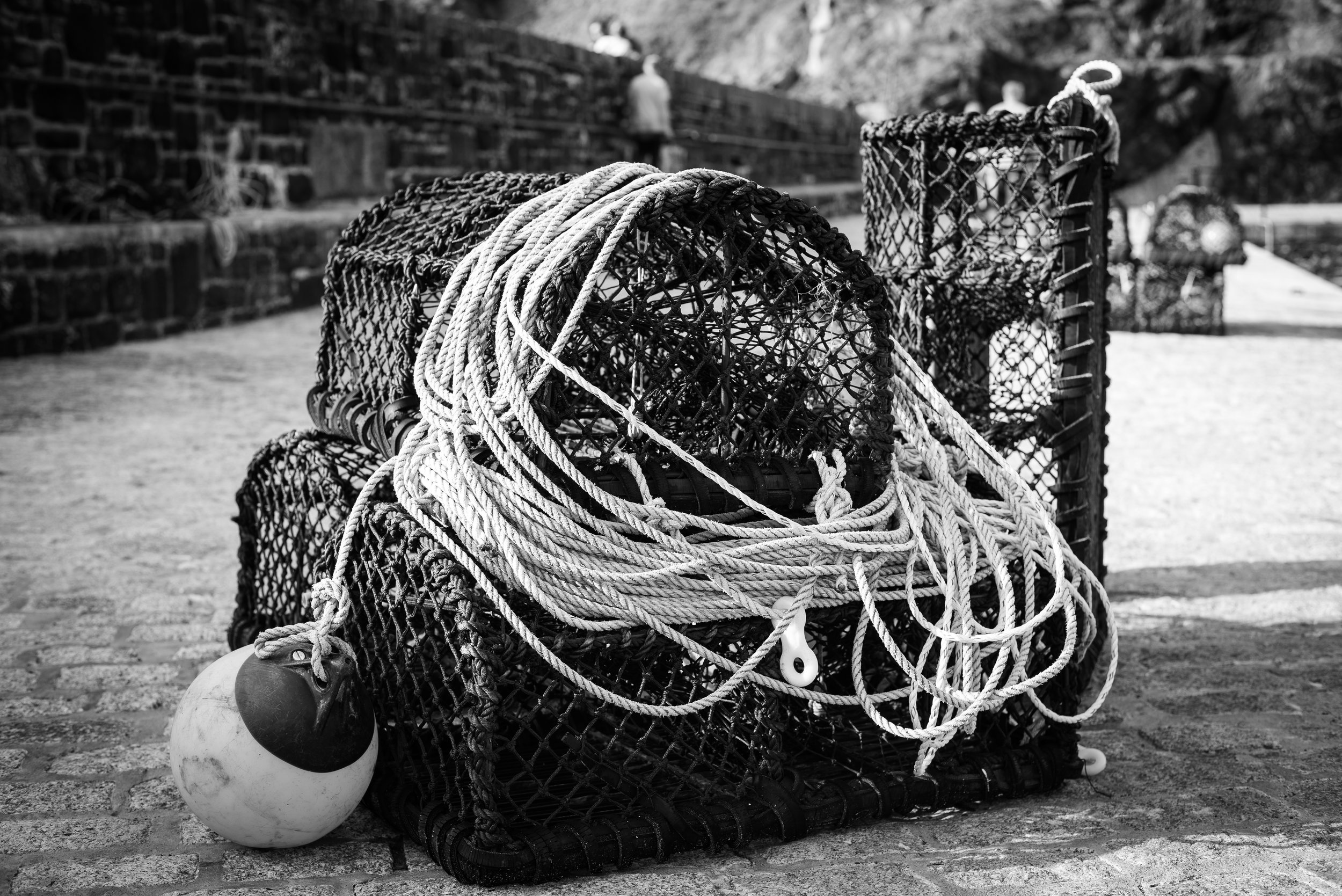 Mullion cove crab pots