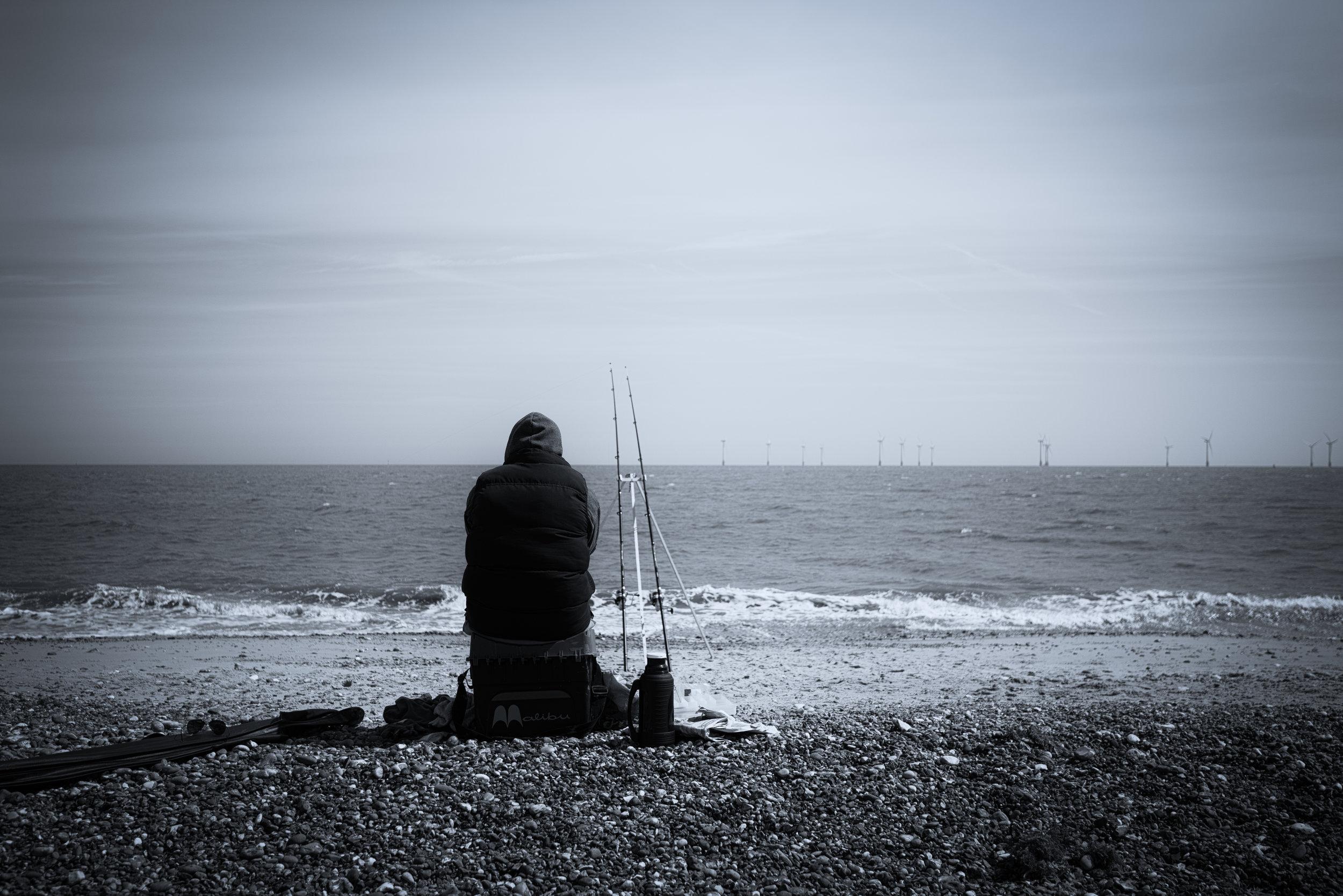 Ocean fisherman-
