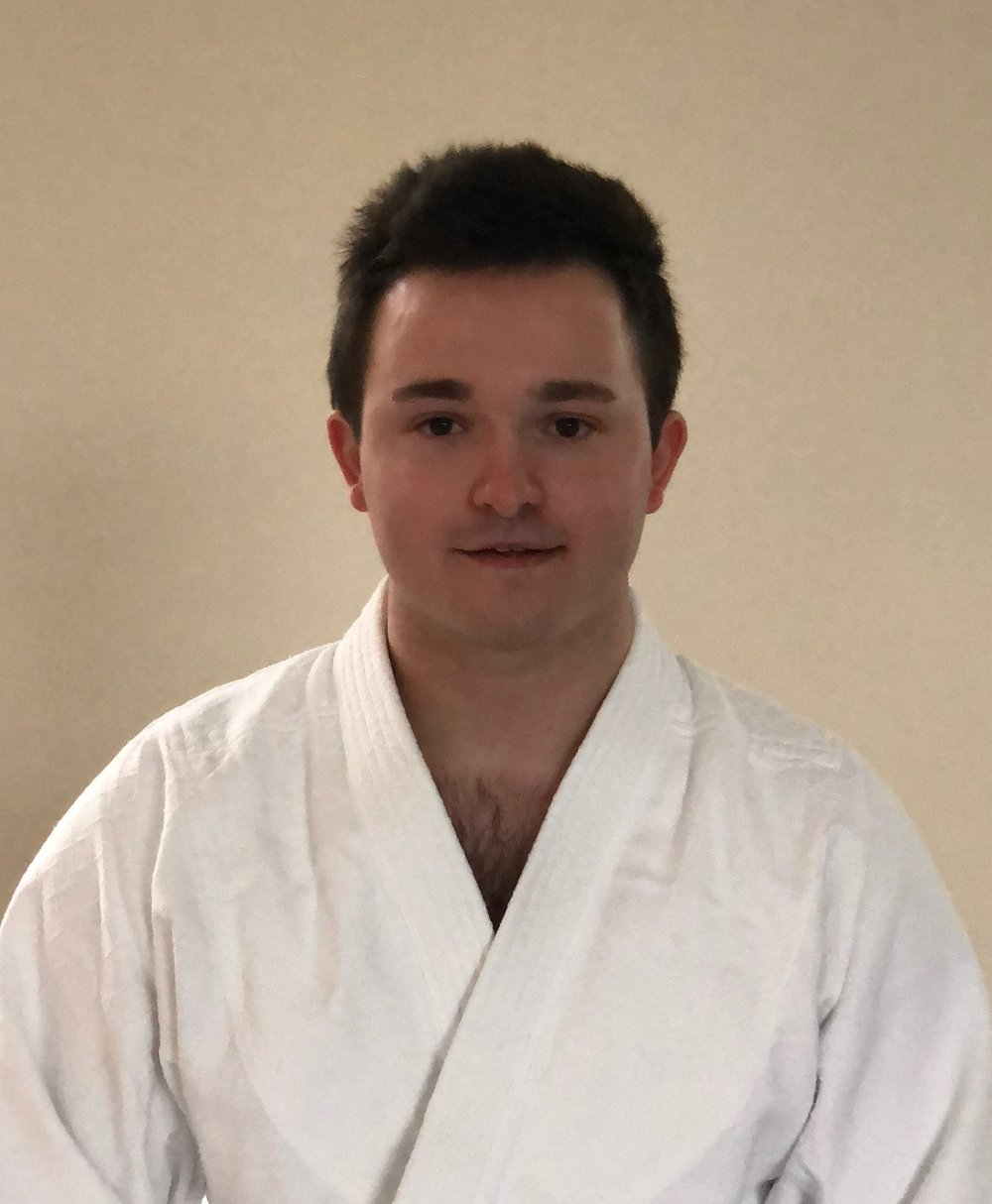 Martin Sanderson Sensei   2nd Dan, Teacher in Training  Isshinkan