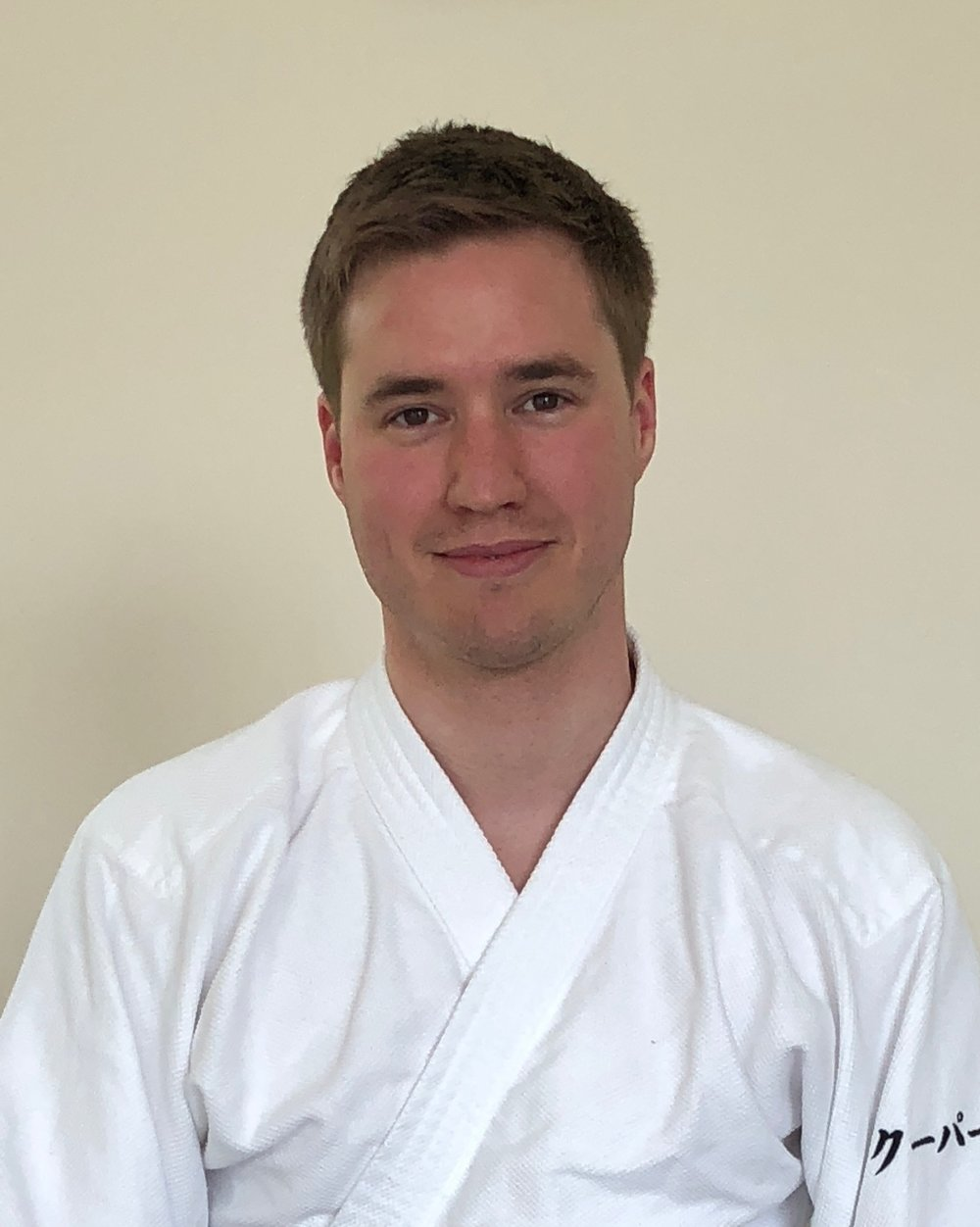 Adam Cooper, 1st Dan