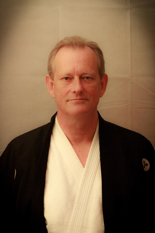 Denis Burke Sensei   Isshinkai Founder