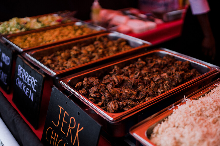 Food and drink at Zimfest Live