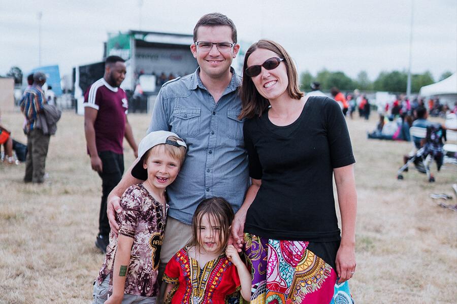 A family friendly atmosphere at Kempton Park