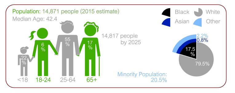 Source: Georgia Department of Labor (2016), US Census Bureau, American Community Survey, 5-year estimate (2011-2015)