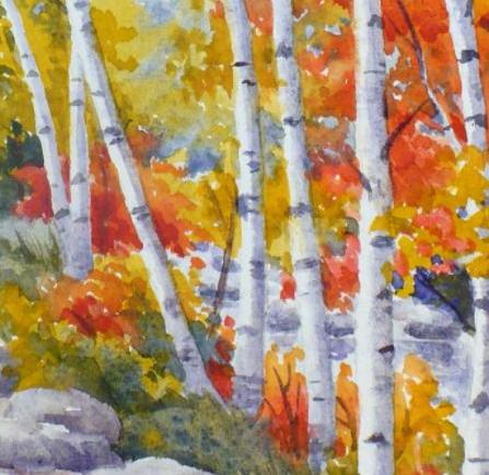 An Autumn Walk: Watercolor - Janet Fedorenko, InstructorOctober 18th, 6:30 PMMeza Wine Shop