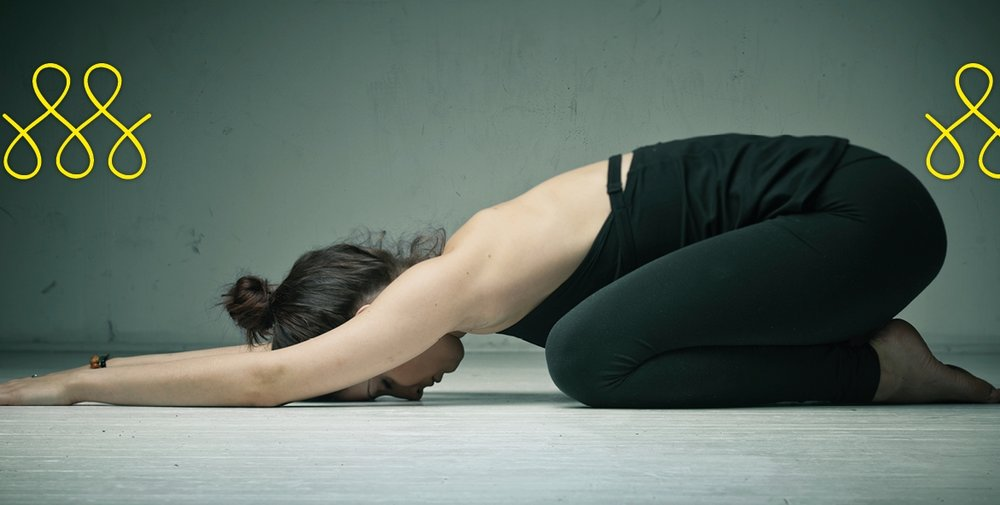 Yogaübung bei Therapie