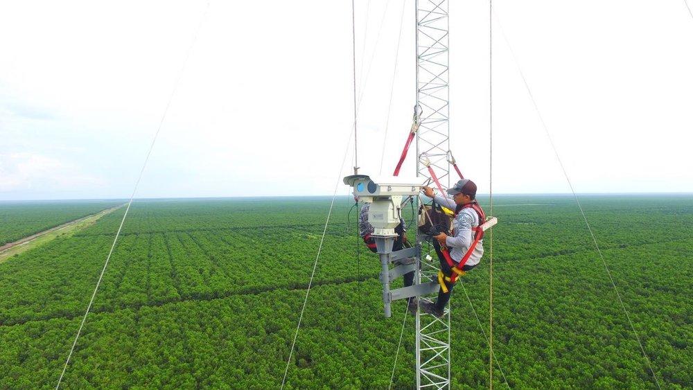 torre-agro-robotics-fd15-insight-robotics-deteccao-de-incendio-floresta-turfa