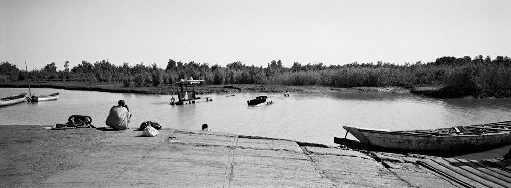 Passage du fleuve Gambie