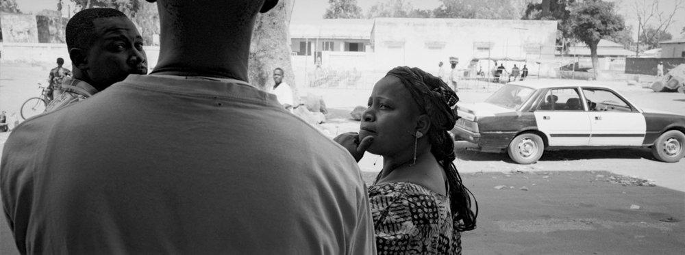 Mariame et ses frères à Kaolack au Sud du Sénégal