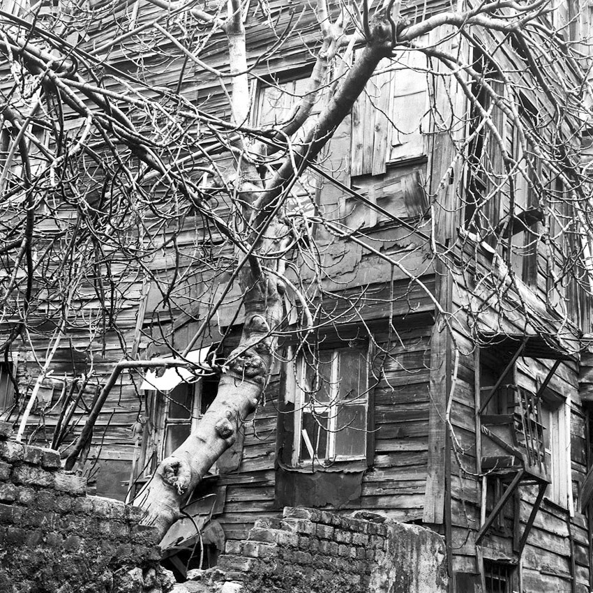 Maison en bois à Istanbul
