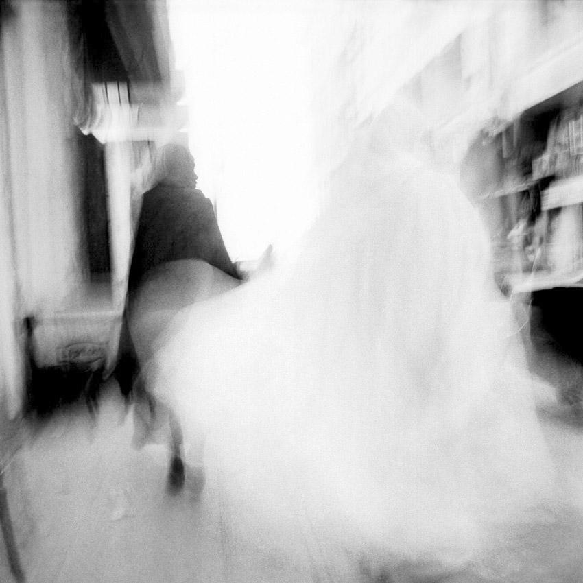 Femmes voilées dans la rue à Alexandrie