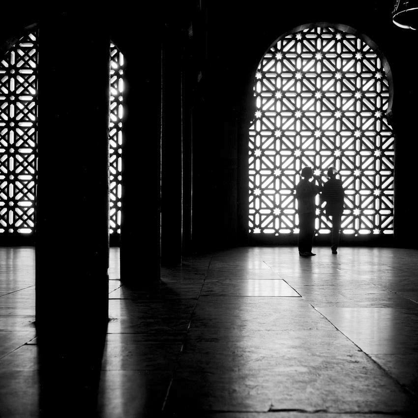 Dans la grande mosquée (Mezquita) de Cordoue.