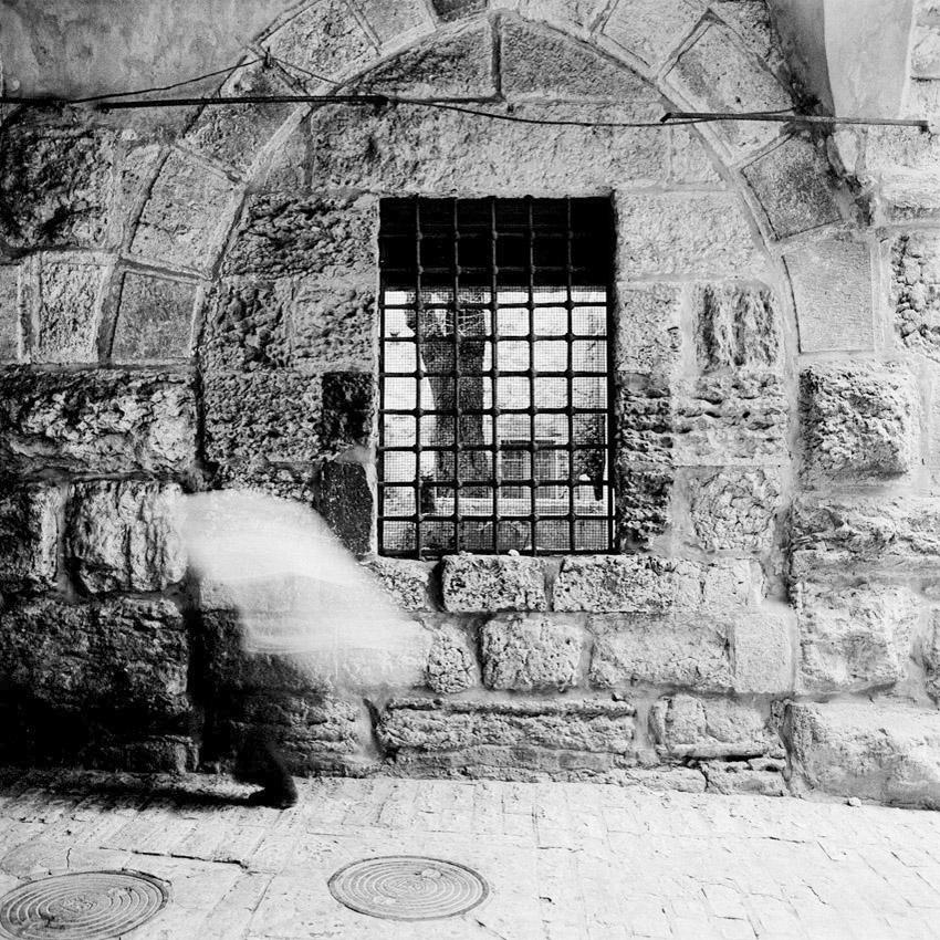 Sur la Via dolorosa à Jerusalem