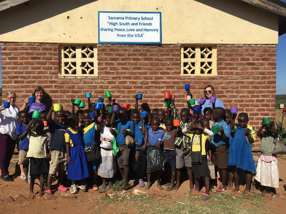 High South and Mary's Meals supported school in Malawi