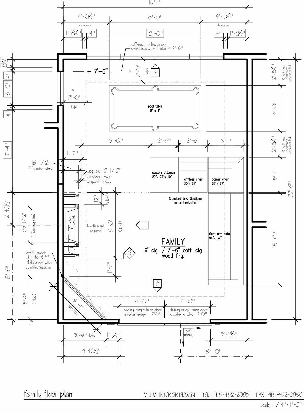 SPACE PLANNING MJM Interior Design