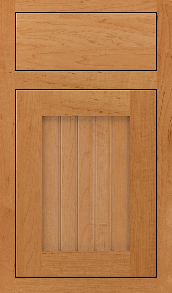 wood type: maple    finish: wheatfield