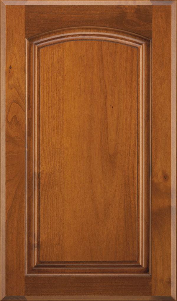 wood type: alder    finish: sienna coffee